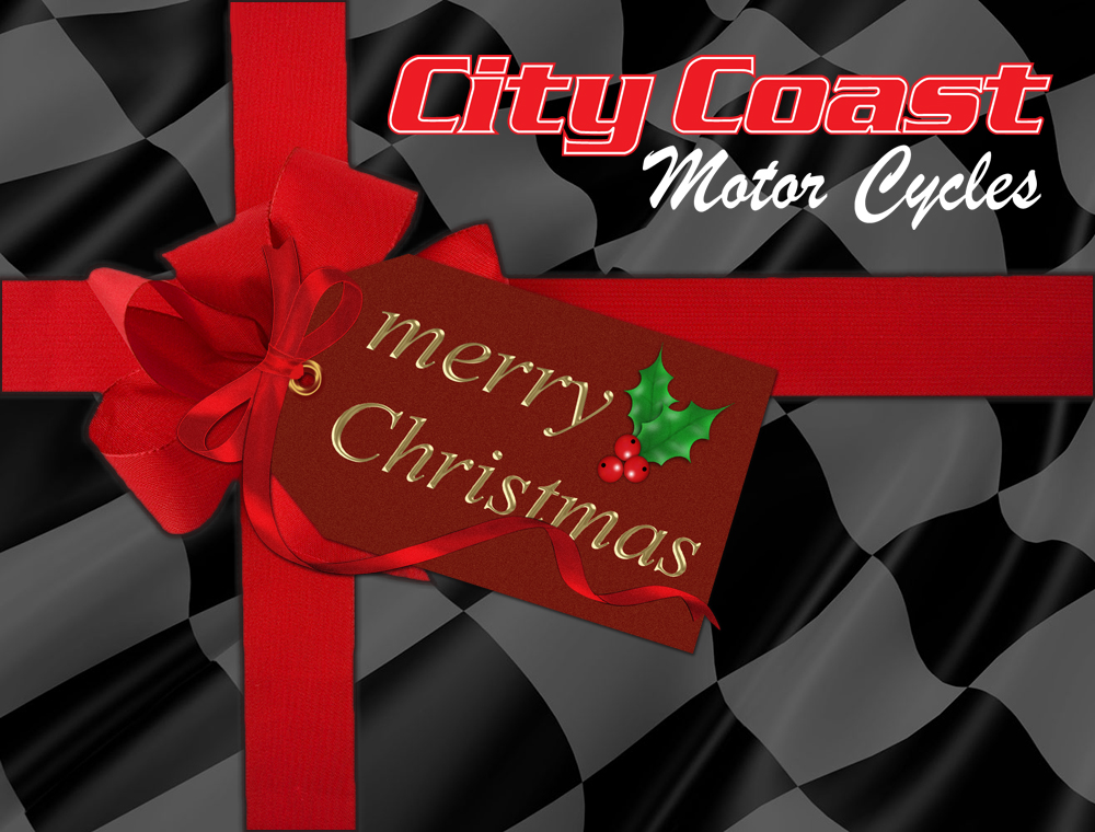 City Coast Motorcycles Christmas Gift Voucher