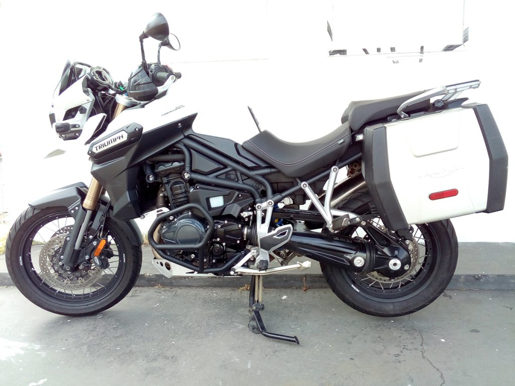2015 Triumph Tiger Explorer Wire Wheel for sale
