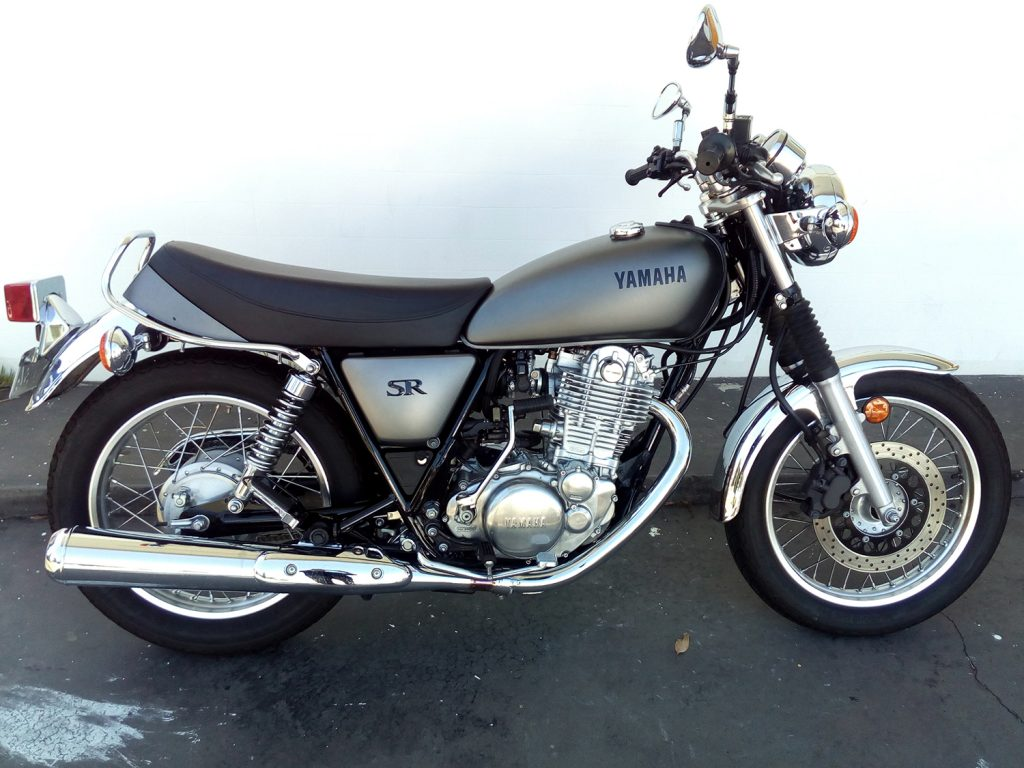 2014 Yamaha SR400 for sale