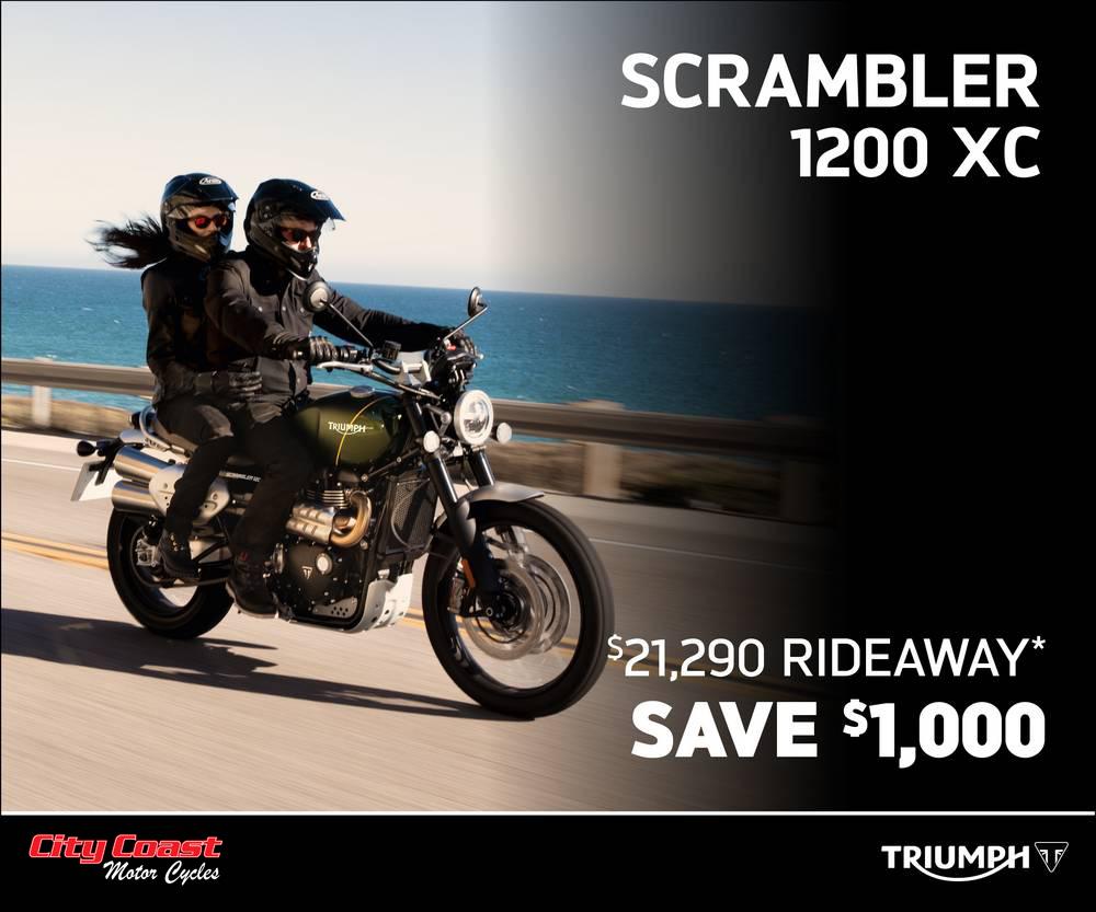 Scrambler XC at City Coast Motorcycles