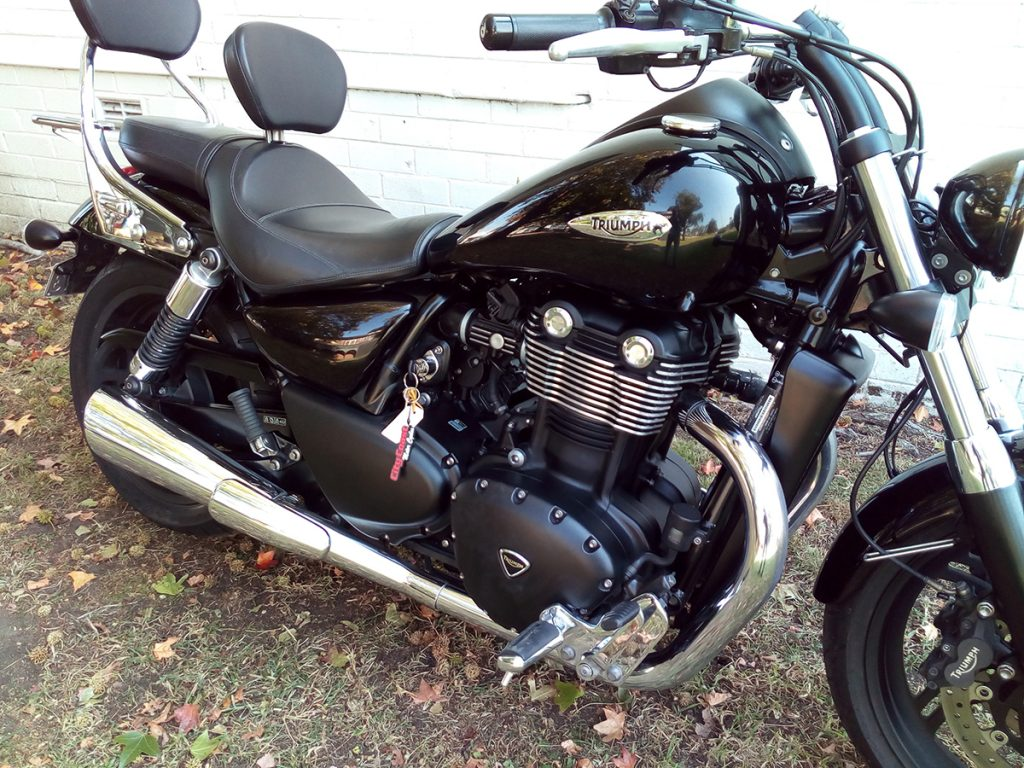 2011 Triumph Thunderbird Storm ABS for sale