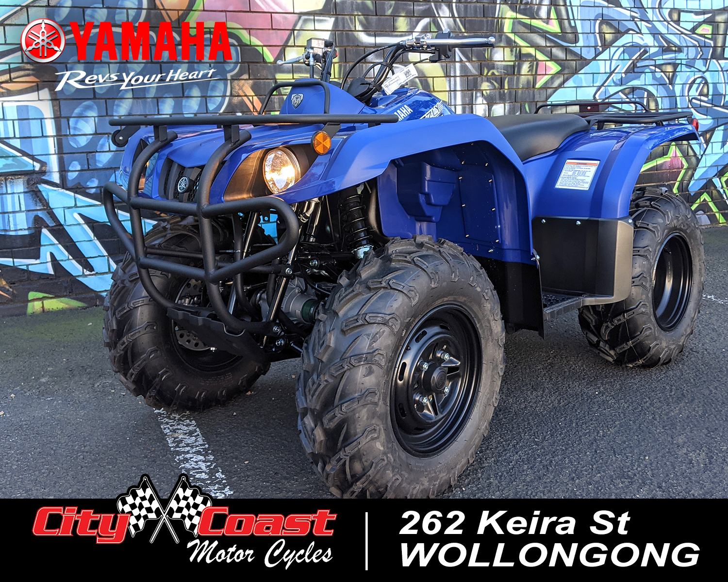 2021 YAMAHA GRIZZLY 350 2WD for sale