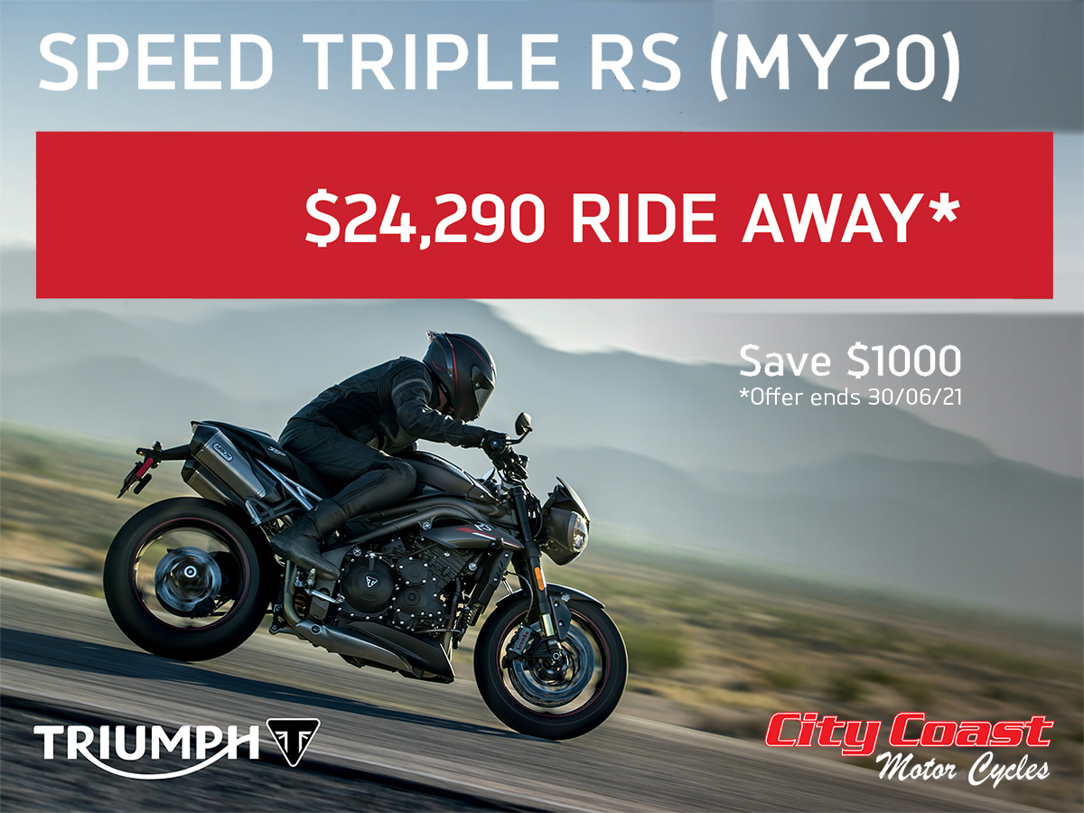 Triumph Speed Triple RS special offer