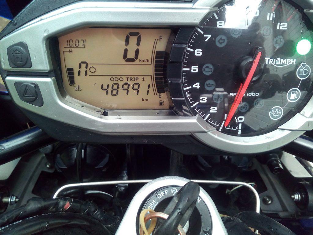 2013 Triumph Tiger Explorer Wire Wheel for sale