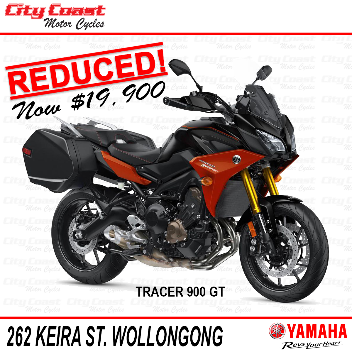 2020 Yamaha Tracer 900 GT reduced