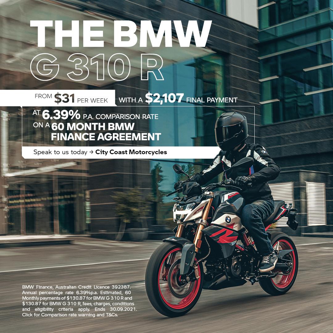 BMW G 310 R Finance Offer