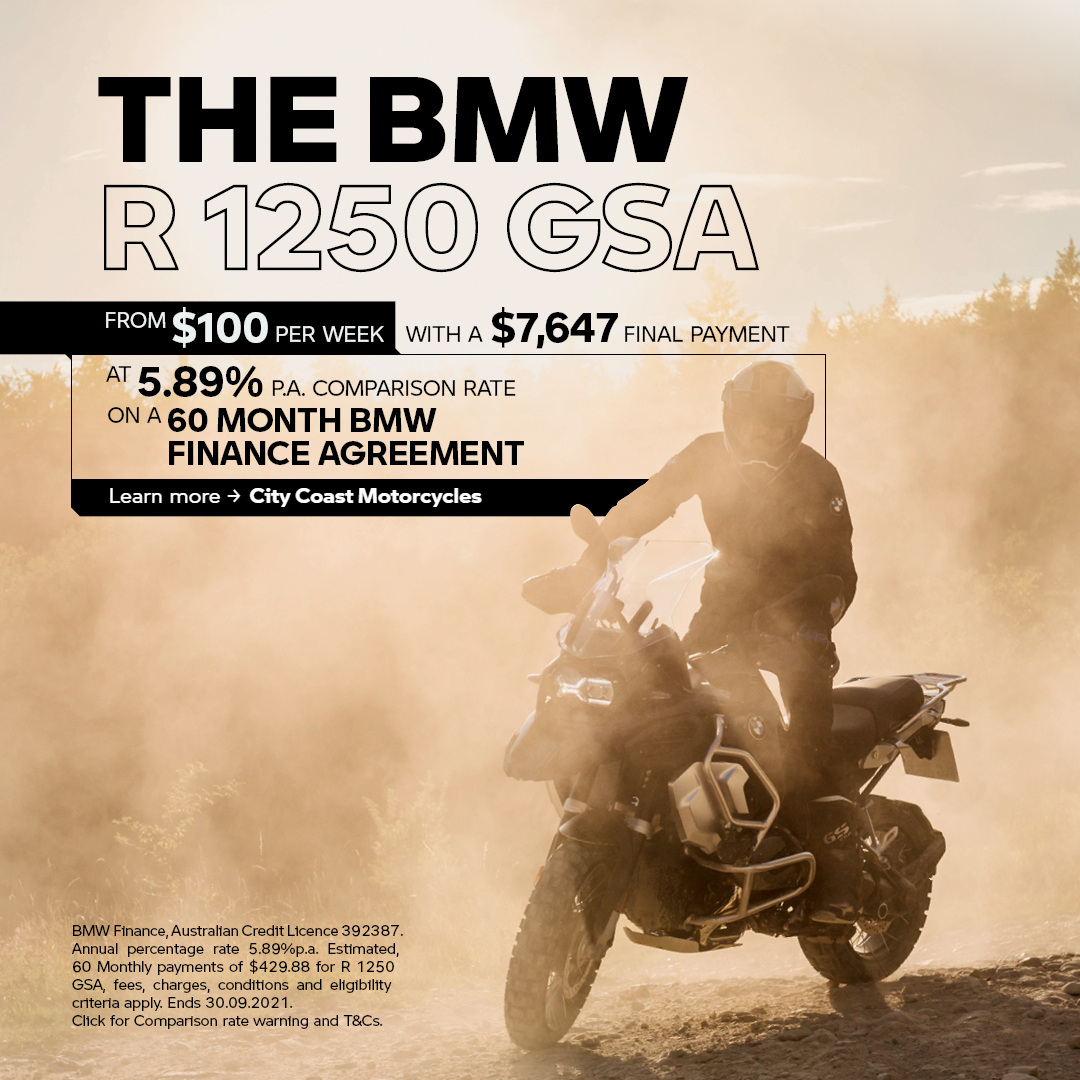 R 1250 GSA BMW Finance Offer