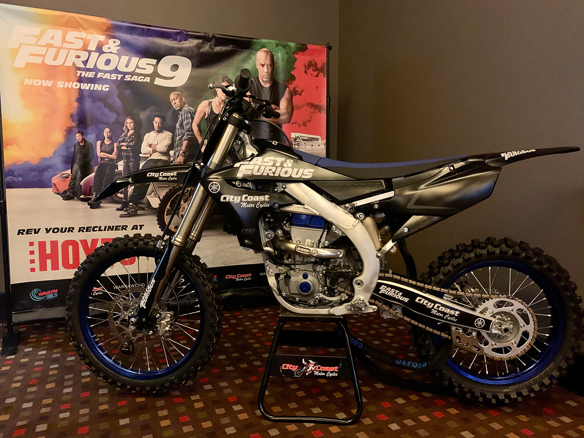 Fast and Furous YZ450F