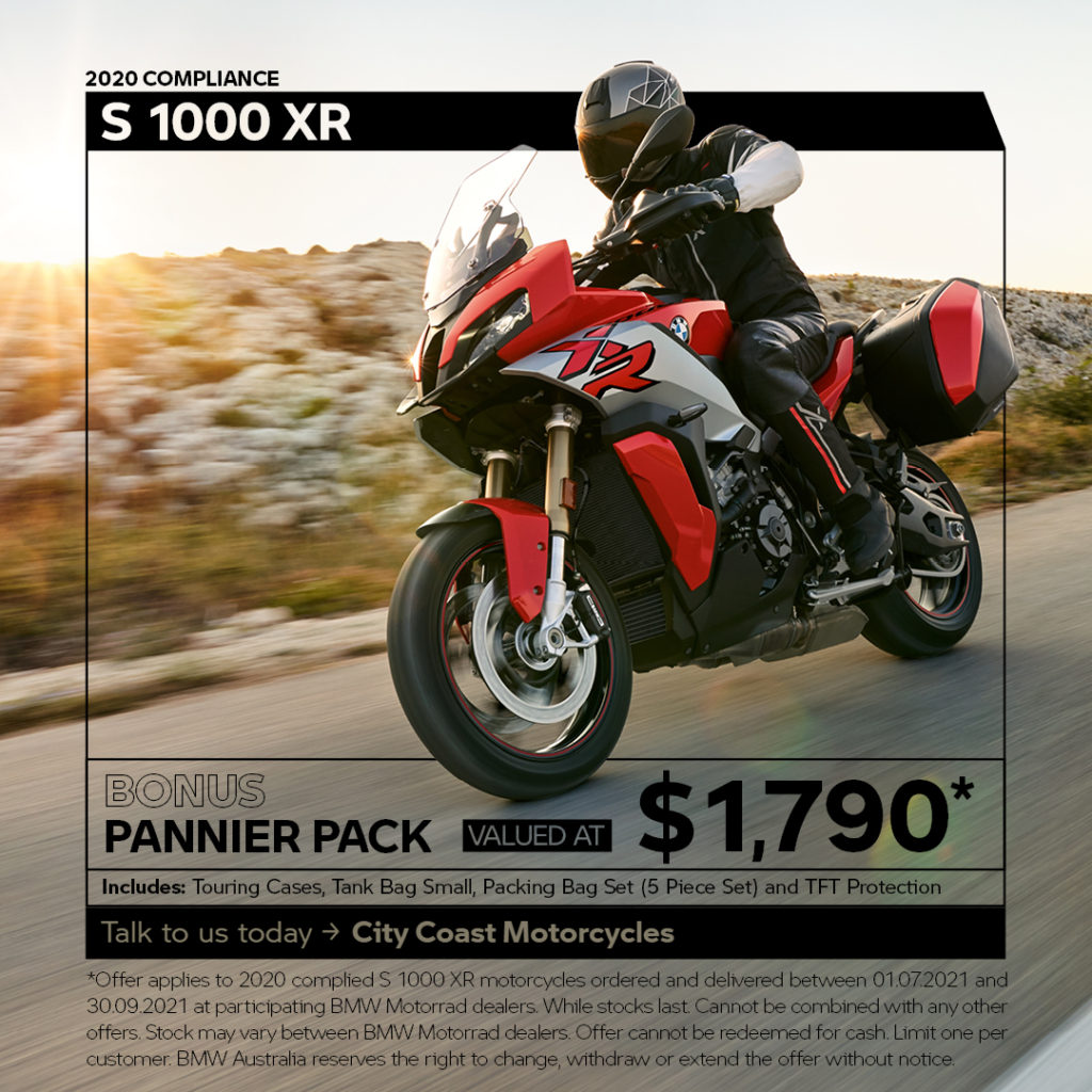 Accessorise your S 1000 XR