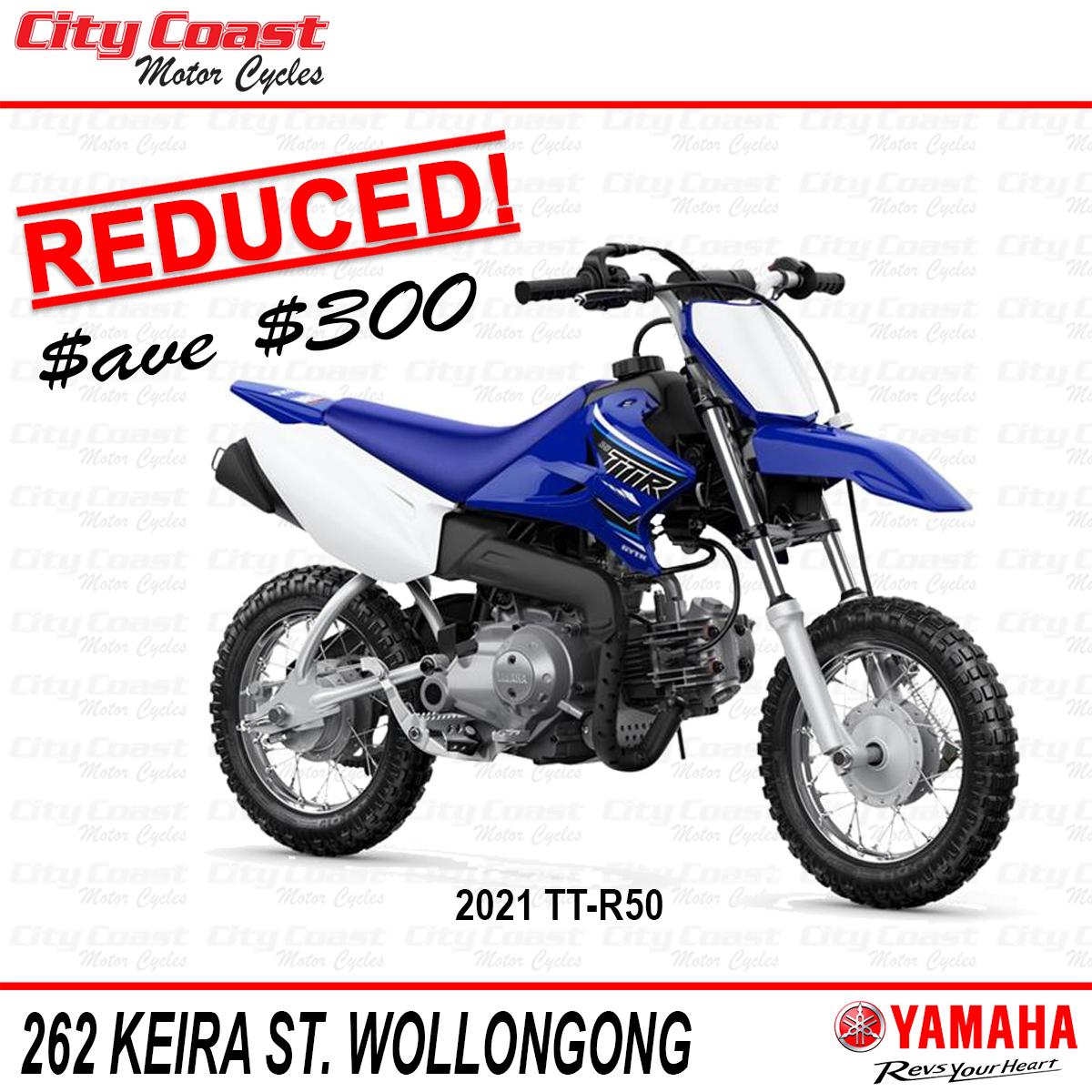 Yamaha TT-R50 on sale!