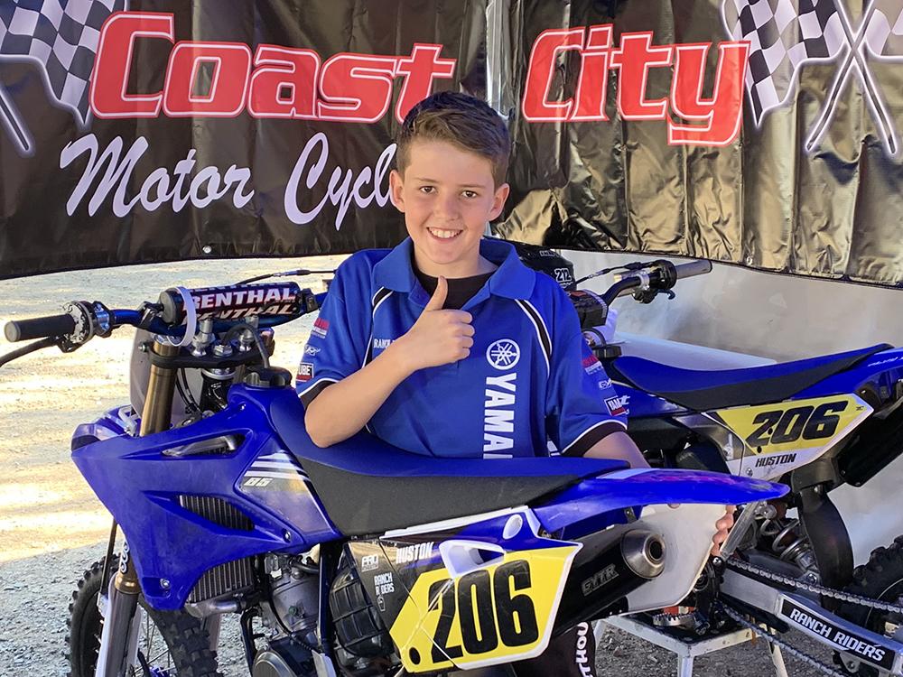 Toby Huston MX Team City Coast Motorcycles