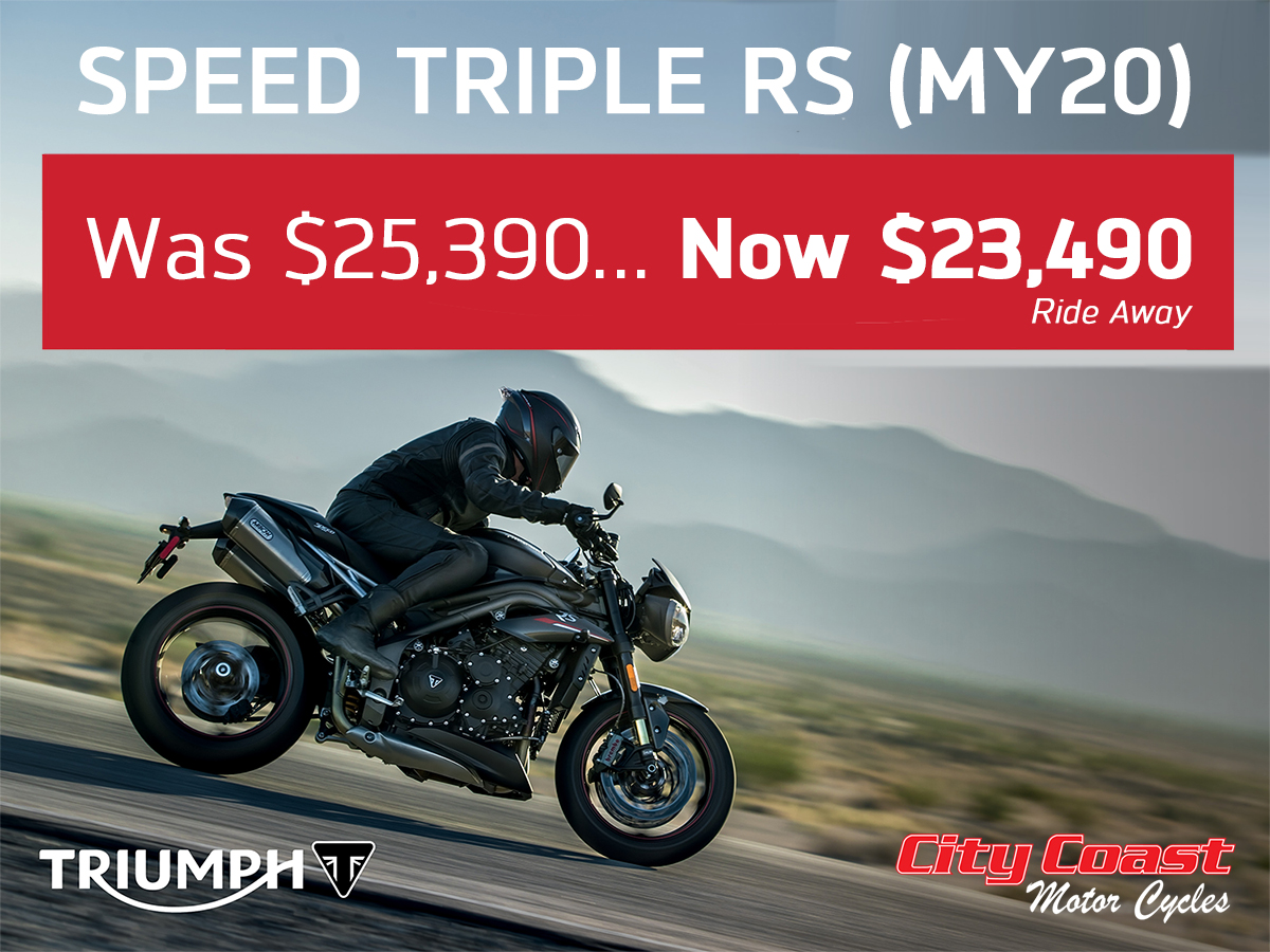 speed triple rs massively reduced
