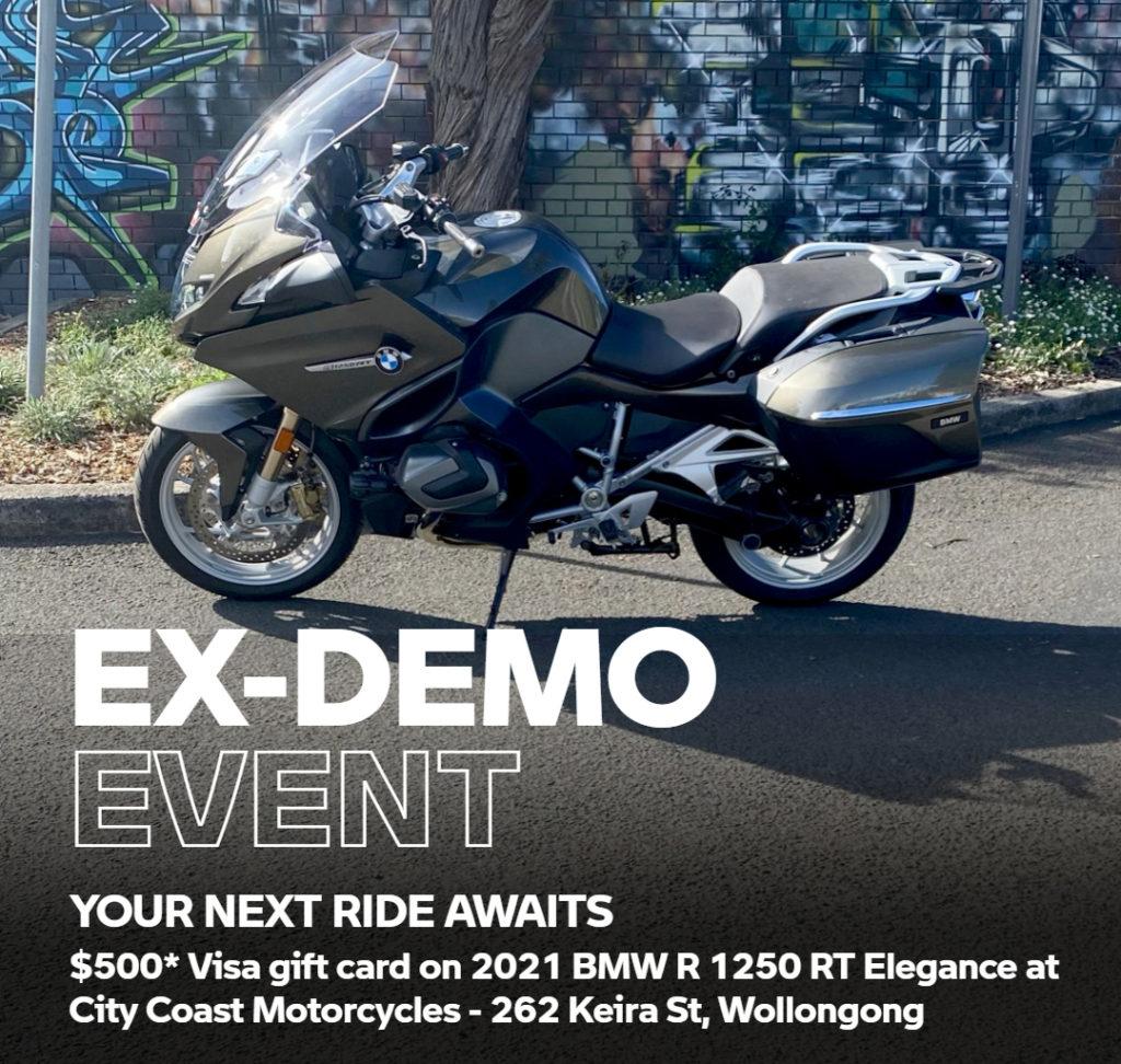 Bonus Visa Gift Card at City Coast Motorcycles