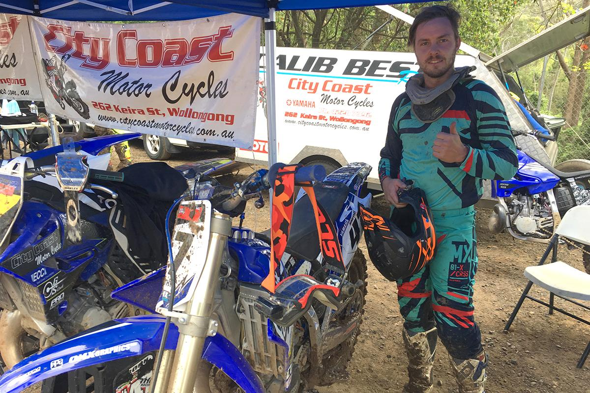 Calib Best: Winner - Senior 250cc, Runner-up - Senior 500cc and and an impressive 5th place in the 2018 Mt Kembla Two Stroke Cup
