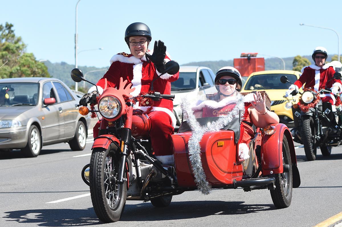 aad5cc2d0b06 City Coast Motorcycles & The Litas Wollongong Santa Ride for Charity