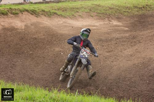 Bushy having a crack on his YZ125